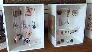 Fabriquer Un Porte Bijoux : 020 tuto cr er vos pr sentoirs bijoux pas chers avec de ~ Melissatoandfro.com Idées de Décoration
