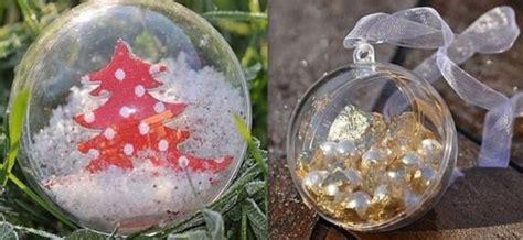 comment decorer  garnir des boules de noel transparentes