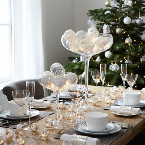 bauble table decorations christmas bauble display ideas that will put a creative spin on tradition ideal home