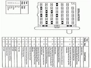 2004 Ford F 250 Econoline Van Fuse Box Diagram
