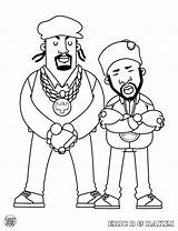 Hop Hip Coloring Pages Rappers Hiphop Rap Mark Bboy Dokument Books Presents Rakim Printable Popular sketch template