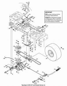 Troy Bilt 13yx79kt011 Horse Xp  2014  Parts Diagram For