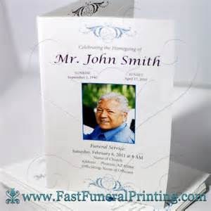 make a funeral program pin by fast funeral printing on funeral programs