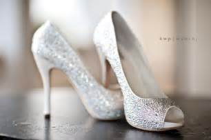 wedding shoes sparkly peep toe wedding heels for the wow factor wedding shoes