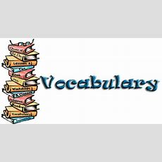 Vocabulary  Departamento De Orientación