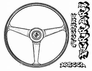 Steering wheel coloring page coloring pages for Steeringwheel