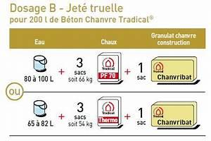Dosage Pour 1m3 De Béton : une isolation au chanvre optimale pour votre maison bcb ~ Premium-room.com Idées de Décoration