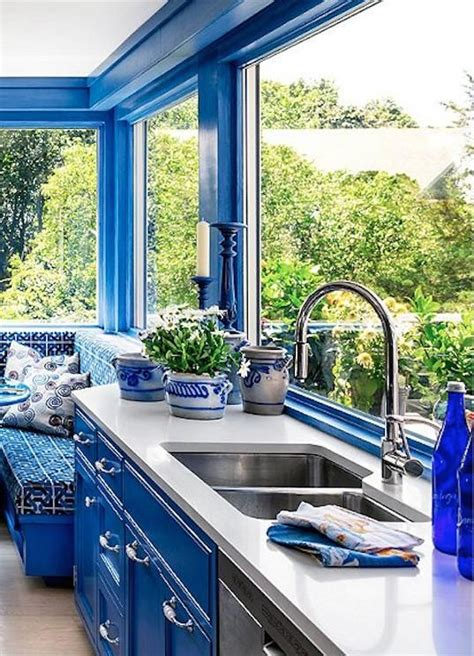 23+ Awe-Inspiring Kitchen Interior Colour Combination Blue