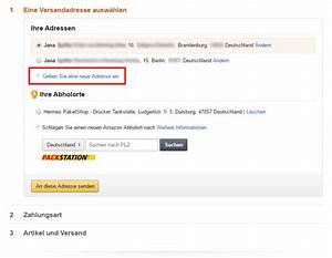 Packstation Adresse ändern : die adresse bei amazon ndern so geht 39 s schritt f r schritt ~ Orissabook.com Haus und Dekorationen