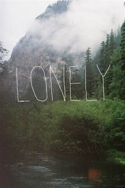 Lonely Landscape Vertical Quote Wolf Words Lone