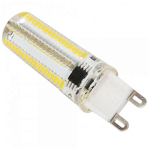 g9 7w dimmable 152 led corn bulb warm white light 3000k