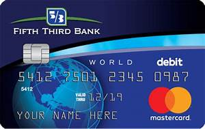 Debit cards fifth third bank for Fifth third bank card designs