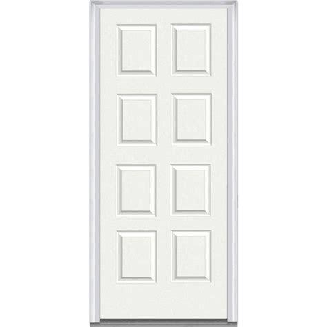 doorbuild panel collection steel prehung door graystone