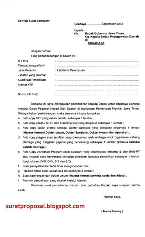 Contoh Surat Lamaran Cpns Dosen by Contoh Surat Lamaran Kerja Cpns Terbaru Contoh Surat