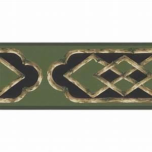 Brewster Bamboo Frame Wallpaper Border