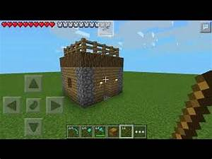 Minecraft pe 0.10.0 : how to build a cool house.. - YouTube