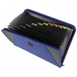 home interior products catalog folder accordion 13 pocket heavy duty zippered school pak