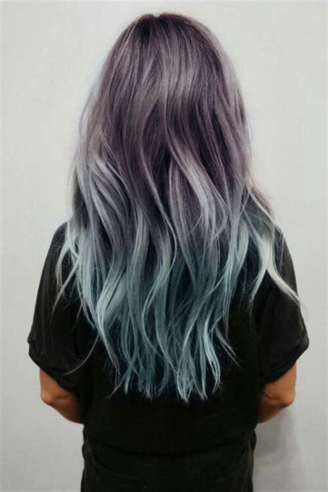 40 Blue Ombre Hair Ideas Hairstyles Update