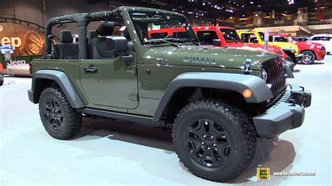 jeep wrangler willys wheeler exterior  interior