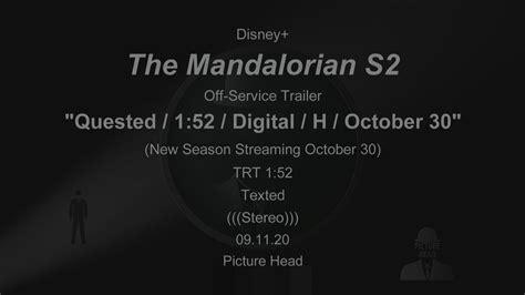 Watch 'Mandalorian' season 2 trailer released for Disney+ ...