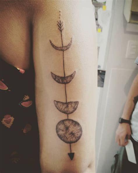 moon arrow tattoo images  pinterest arrow tattoos tattoo ideas  arrow