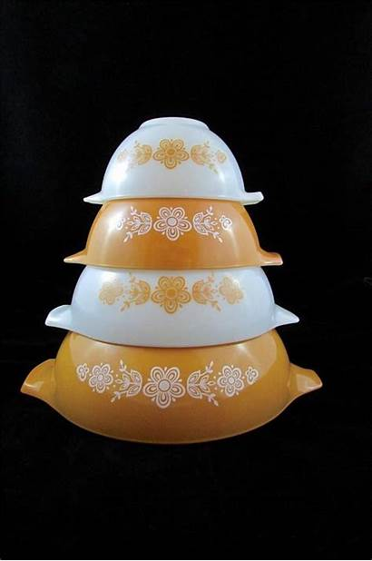 Pyrex Bowls Mixing Butterfly Nesting Cinderella Stores