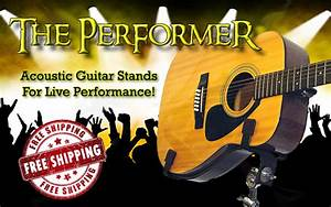 Walk Up & Play Live Performance Acoustic Guitar Stands