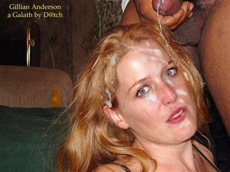jpg in gallery Celeb Bukkake  Gillian Anderson