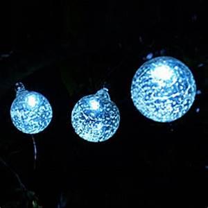Solar Powered Halloween Stake Lights Allsop Aurora Glow Glass Solar String Lights Set Of 6