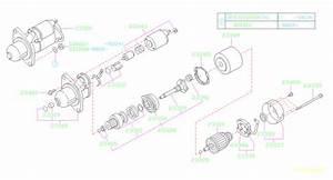 Subaru Forester Connector-brush Holder Assembly  Starter  Engine  Cooling