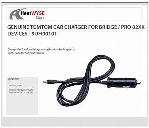 Tomtom Bridge    Pro 8270 8275 Car Charger 9ufi 001 01