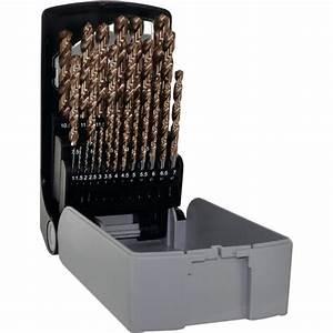 Coffret Foret Professionnel : coffret 25 forets hss furius de 1 13mm tivoly 11454170017 ~ Teatrodelosmanantiales.com Idées de Décoration