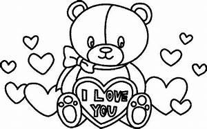 Dessin Saint Valentin : saint valentin coloriages dessin saint valentin coloriage ~ Melissatoandfro.com Idées de Décoration