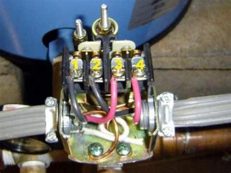 wiring   pumptrol pressure switch doityourselfcom