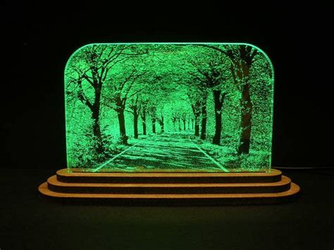 acrylic etch light designs images  pinterest