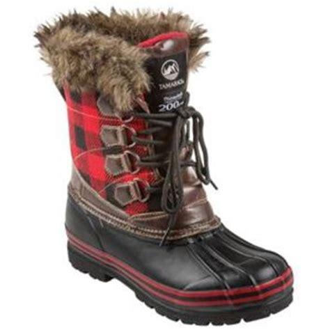 tamarack womens red plaid bean boots  farmandfleetcom