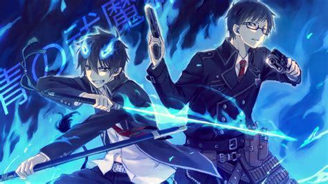 Blue Anime Wallpaper - 258 blue exorcist pap 233 is de parede hd planos de fundo