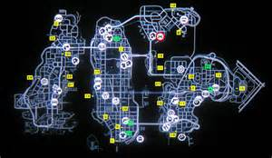 gta 4 hidden cars map for xbox 360 - Gta 4 Secret Cars Locations Xbox 360