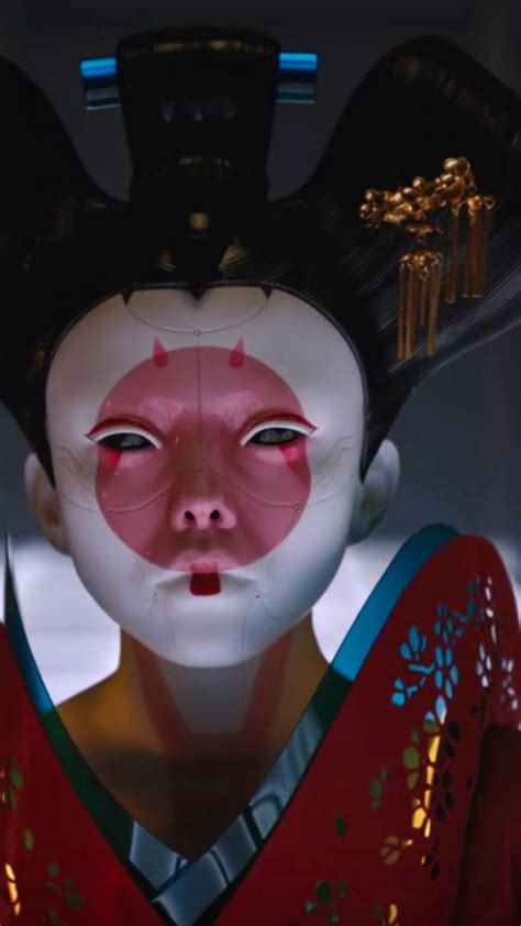 wallpaper ghost   shell geisha  movies movies