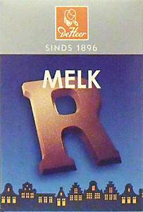 Deheer small dutch chocolate letters milk chocolate for Dutch chocolate letters sale