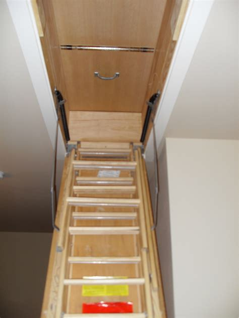 Pull Down Attic Stairs Folding