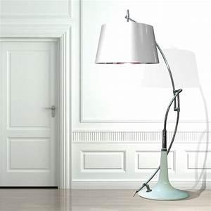 Stehlampe Weißer Schirm : moderne leuchten mit berdimensionalen schirmen von lm studio ~ Indierocktalk.com Haus und Dekorationen