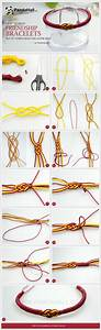 Easy friendship bracelets from of Carrick Bend and Alpine ...