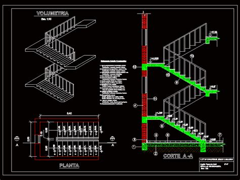 stair detail dwg section for autocad designs cad