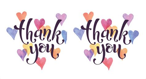 thank you card template free 40 free card templates jpg psd vector eps free