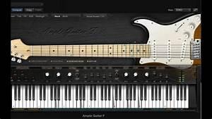 Fender Stratocaster Guitar Virtual Instrument Sound Demo