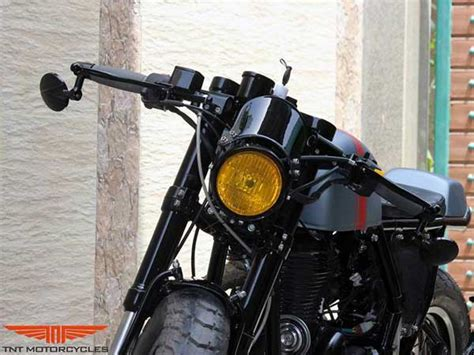Modification Royal Enfield Continental Gt by Royal Enfield Continental Gt Modified Drivespark News