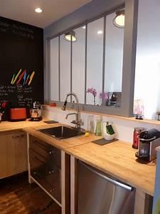 Verrière Intérieure Ikea : r novation de cottage sur le plateau cuisine avant ~ Melissatoandfro.com Idées de Décoration