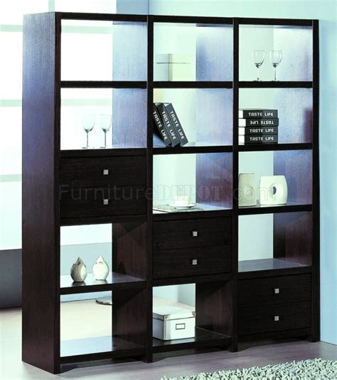 Formal Living Room Furniture Placement by Contemporary Shelf Unit Room Divider W Additional Drawers