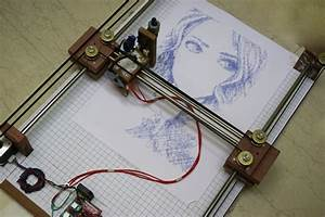Arduino Cnc Drawing Machine